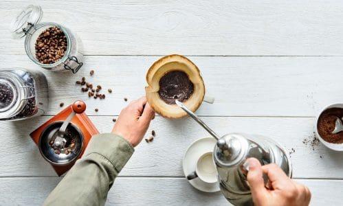 Caféine et chanvre