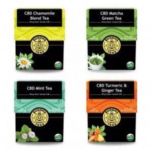 Thés contenant du CBD de Buddha Teas